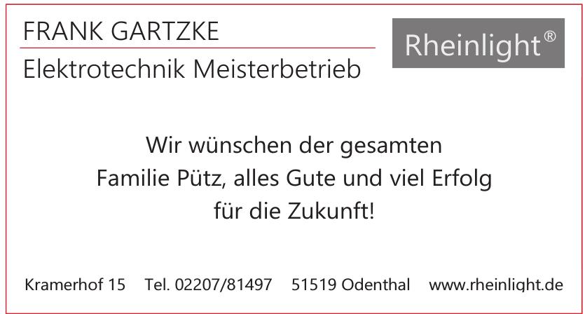 Frank Gartzke Elektrotechnik Meisterbetrieb