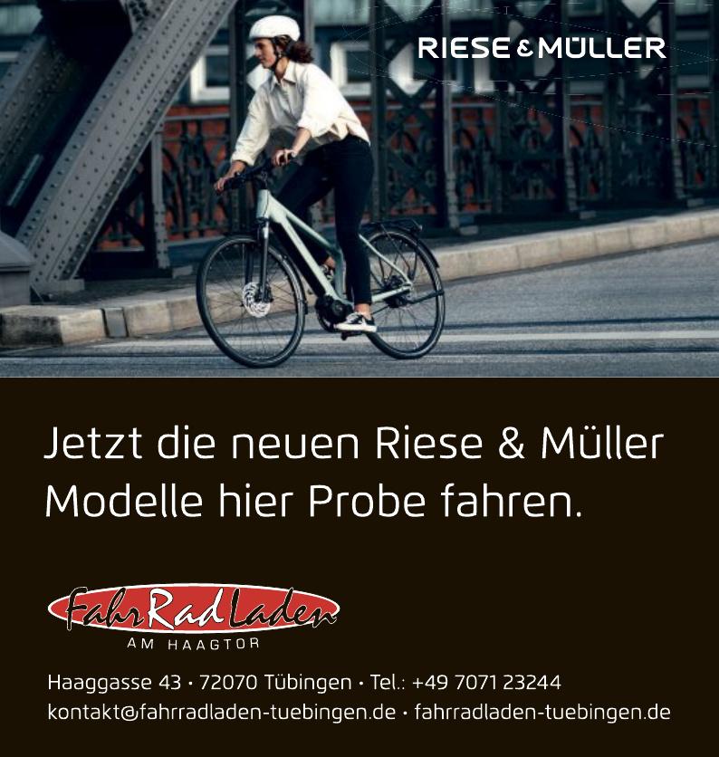 FahrRadLaden Riese & Müller