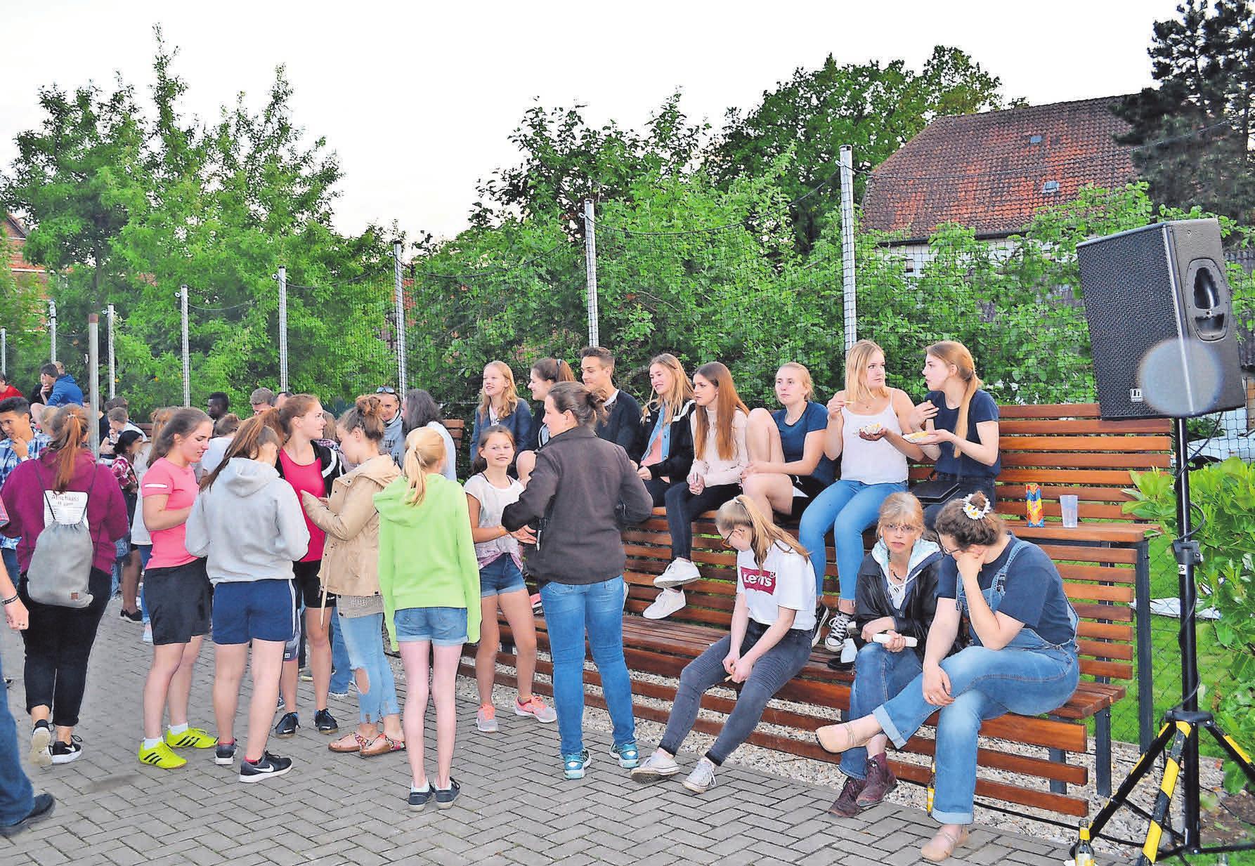 Chillen, Quatschen und Spaß haben ohne Drogen, Alkohol und Gewalt: Dafür steht die Arpker Youth Night.