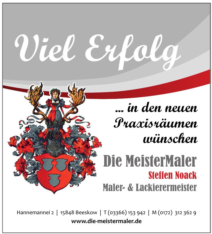 Die MeisterMaler Steffen Noack