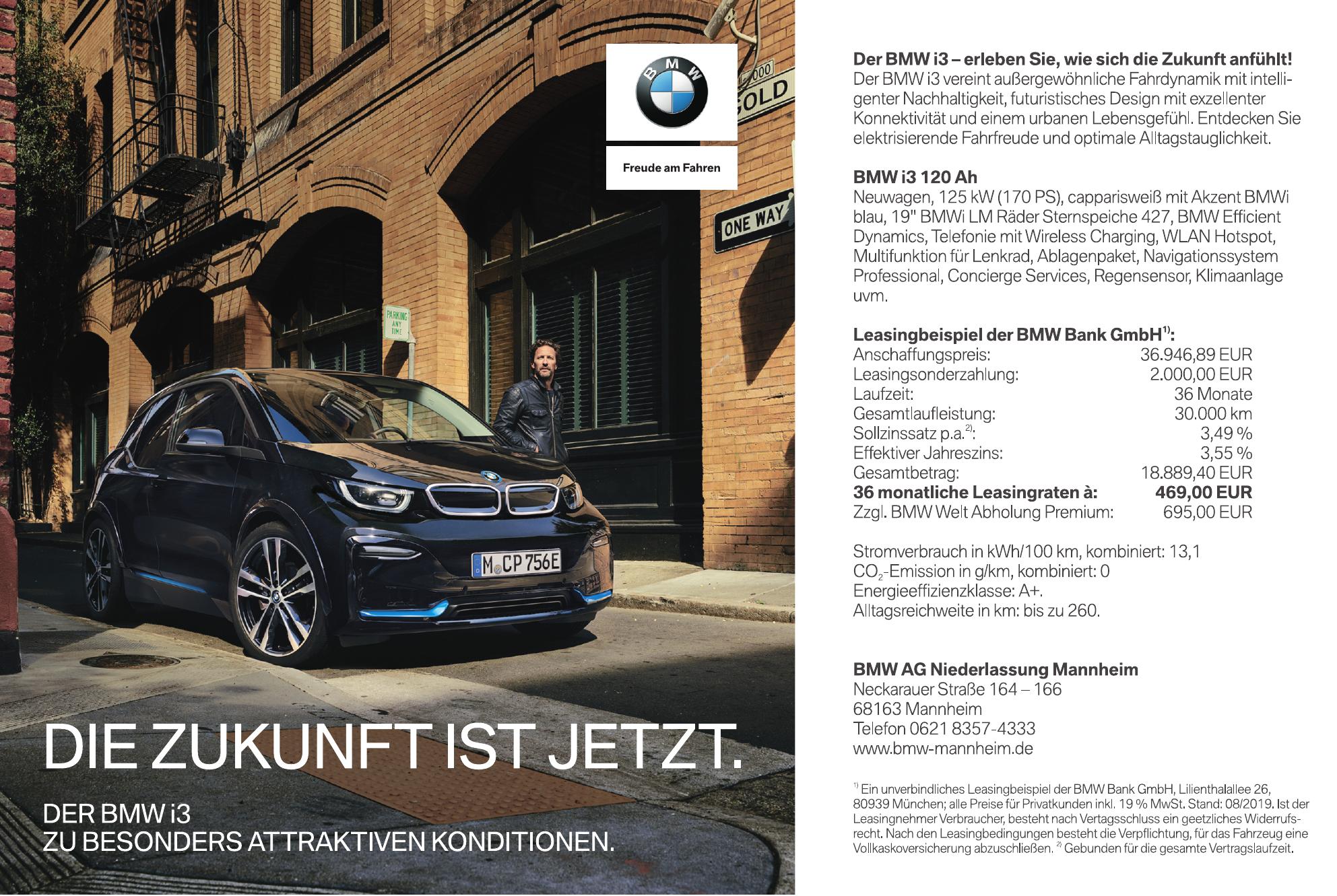 BMW AG Niederlassung Mannheim