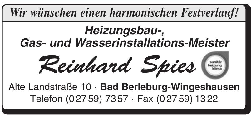 Reinhard Spies