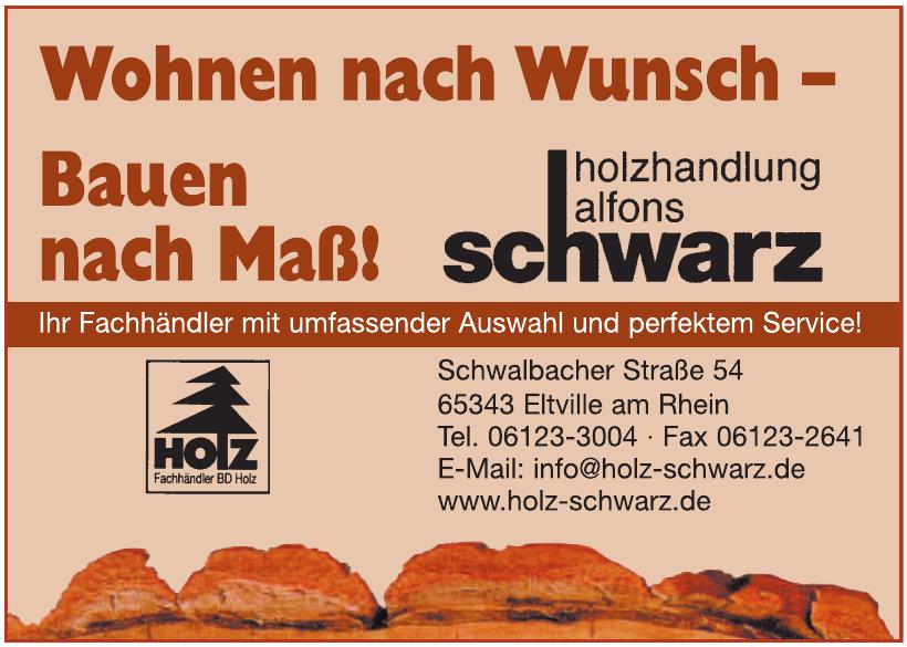 Holzhandlung Alfons Schwarz