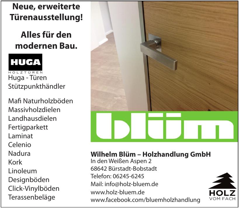 Wilhelm Blüm - Holzhandlung GmbH