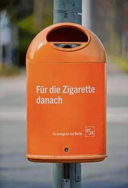 Mit ihrer witzigen Werbekampagne hat die BSR ihr Image erfolgreich aufpoliert. PA/BILDAGENTUR-ONLINE/JOKO