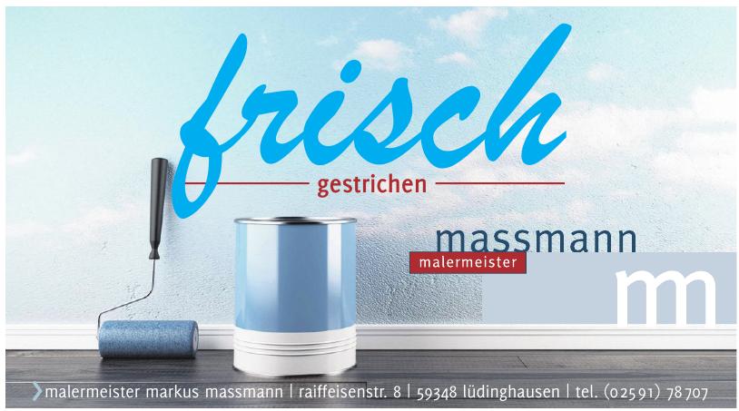 Malermeister Markus Massmann