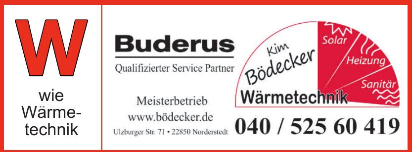 Kim Bödecker - Wärmetechnik