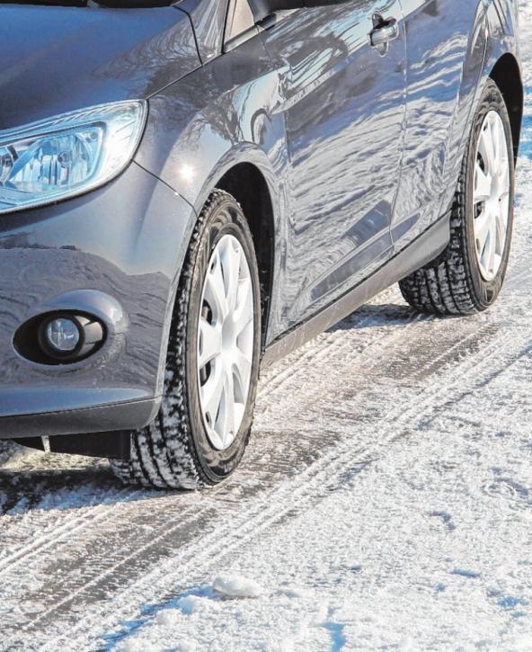 Eisige Kälte und rutschige Straßen: Mit geeigneten Maßnahmen lässt sich das Fahrzeug auf den Winter vorbereiten. FOTO: A.T.U.