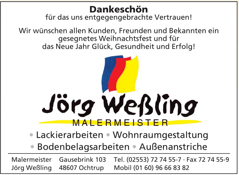 Malermeister Jörg Weßling
