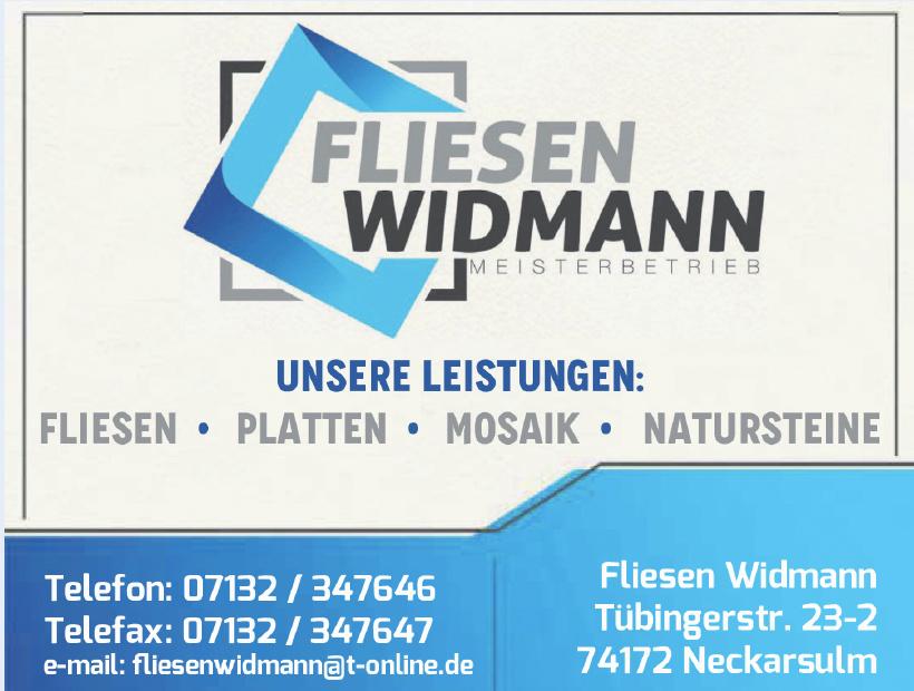 Fliesen Widmann