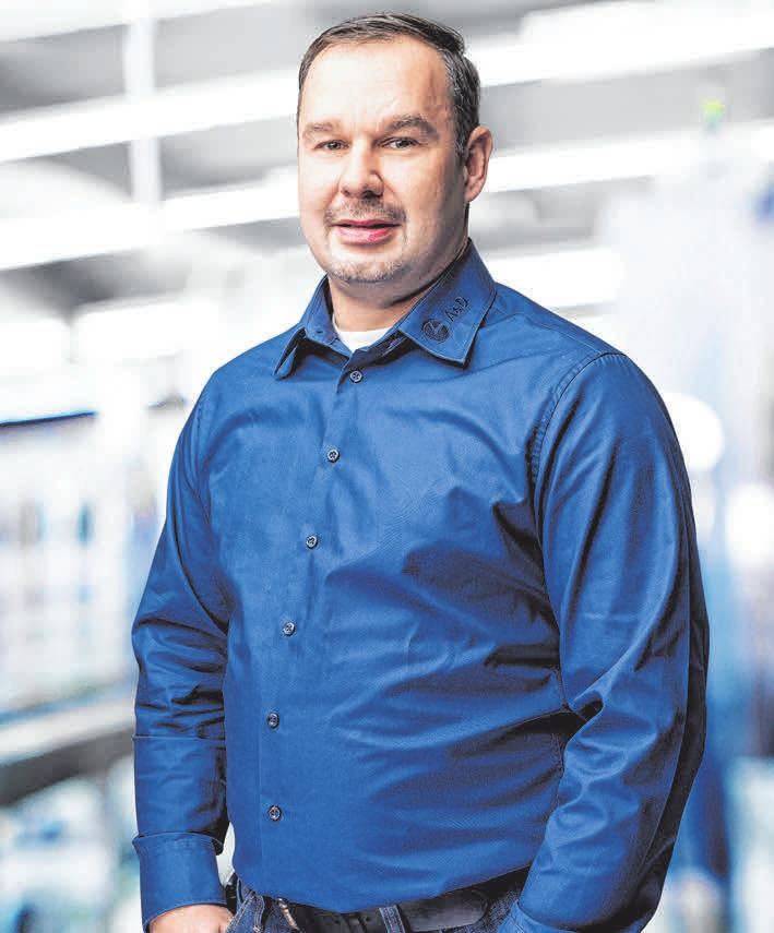 Holger Ahr<div>Geschäftsführer-General Manager</div>