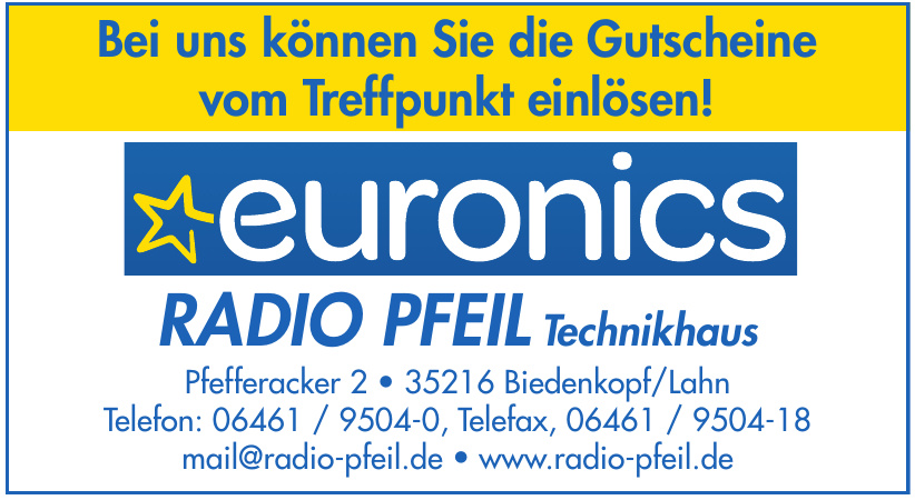 euronics RADIO PFEIL Technikhaus