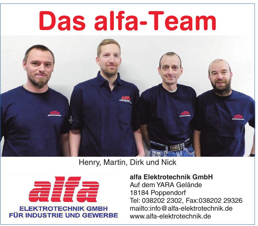 alfa Elektrotechnik GmbH