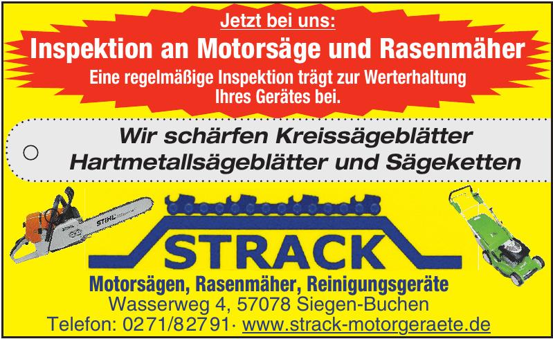 Strack - Motorsägen, Rasenmäher, Reinigungsgeräte