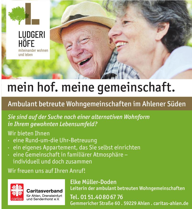 Caritasverband für Ahlen, Drensteinfurt und Sendenhorst e. V.