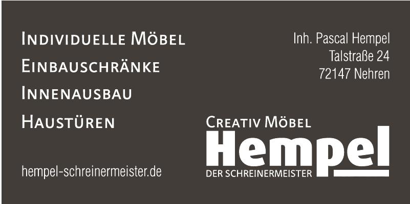 Creativ Möbel Hempel - Der Schreinermeister