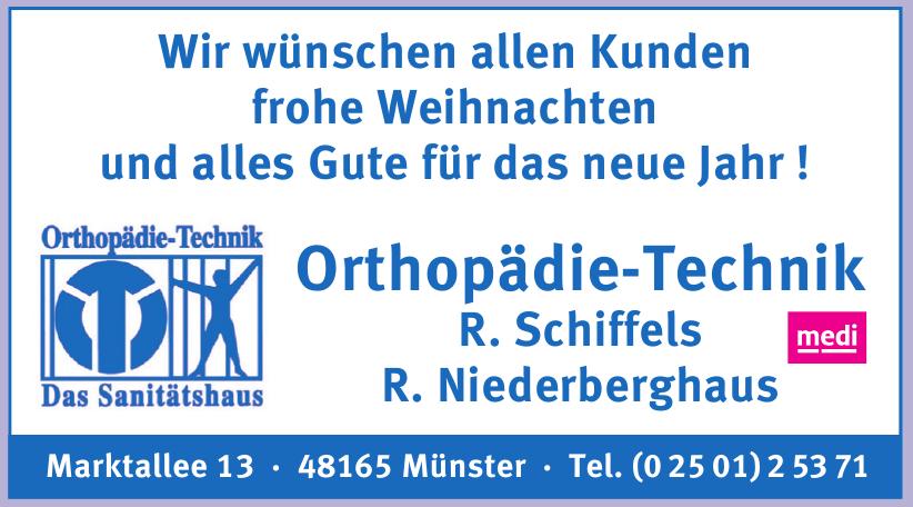 Orthopädie-Technik R. Schiffels R. Niederberghaus