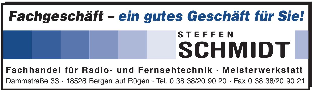 Steffen Schmidt - Fachhandel für Radio- und Fernsehtechnik - Meisterwerkstatt