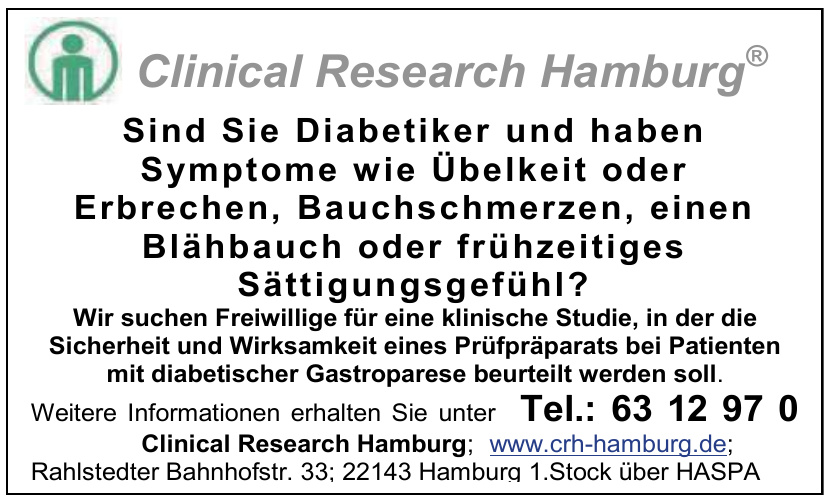 Clinical Research Hamburg