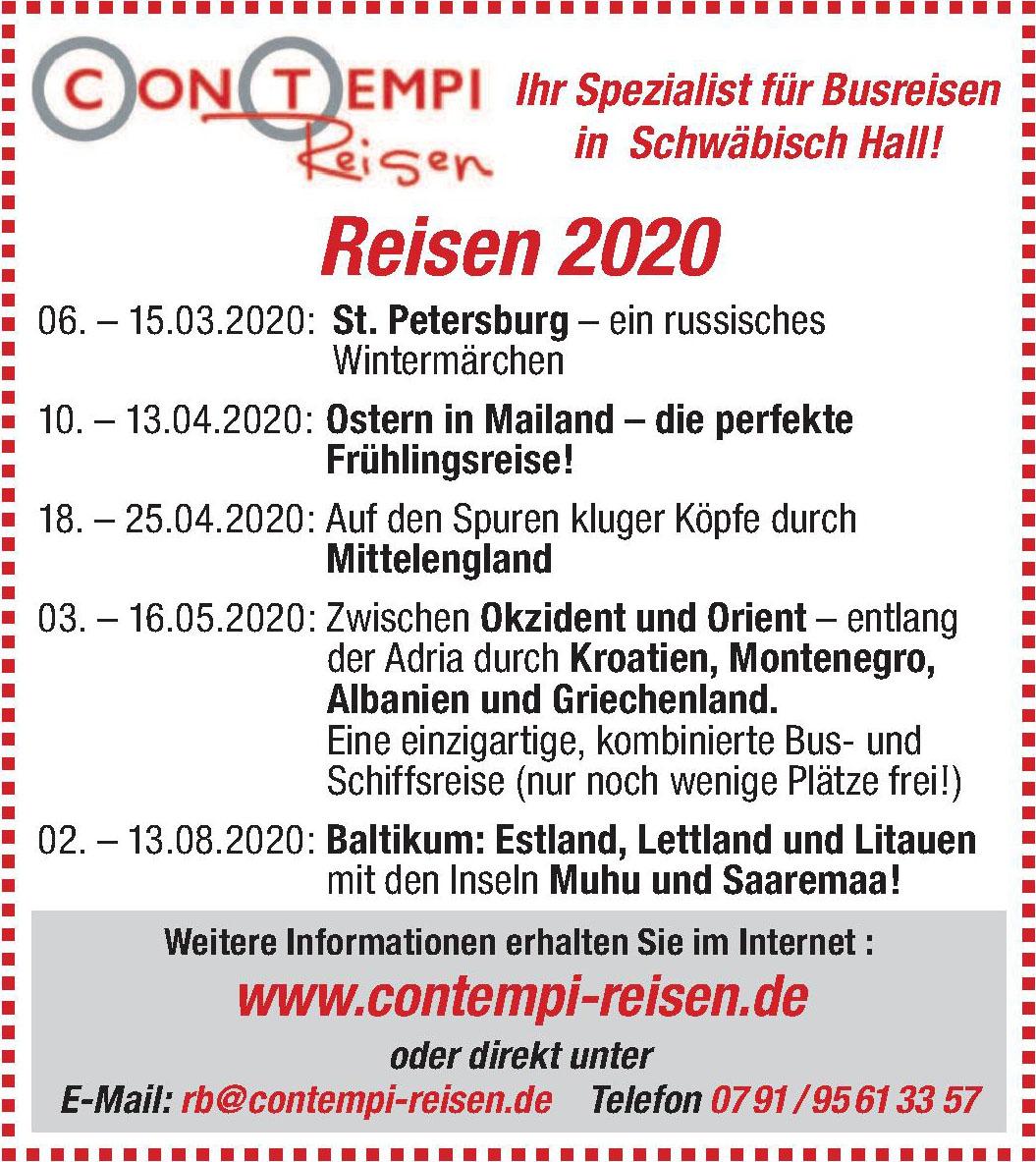 Contempi Reisen