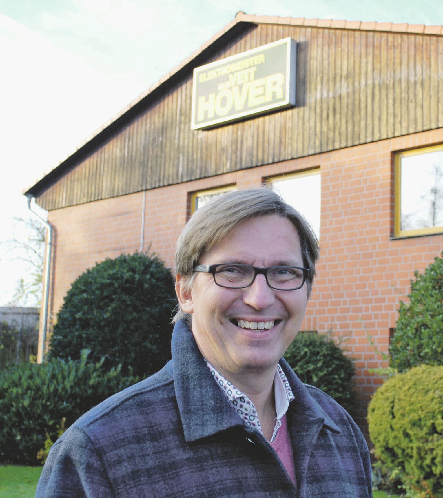 Seit 1997 ist Jens Krause in dem Traditionsbetrieb tätig. Foto: Birthe Kußroll-Ihle