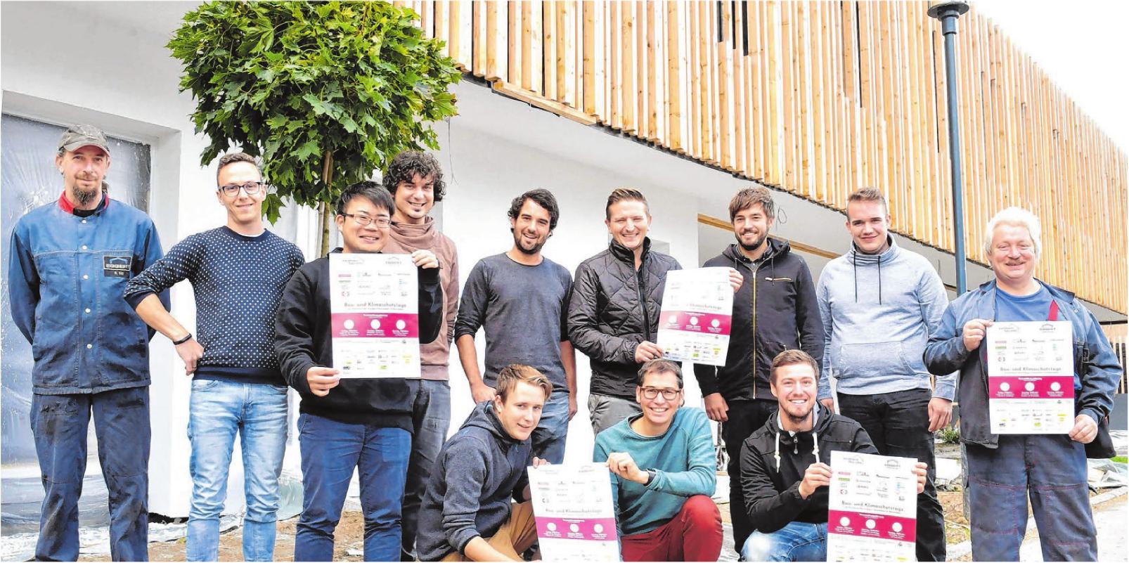 Peter Kaufmann und sein Team setzen auf energieeffizientes, ökologisches Bauen. Fotos: Jürgen Emmenlauer