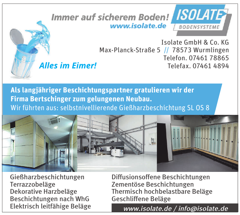 Isolate GmbH & Co. KG