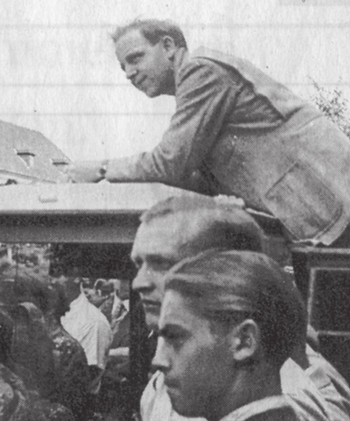 WAZ-Chefredakteur Wilhelm Wember war stets mittendrin im Geschehen.