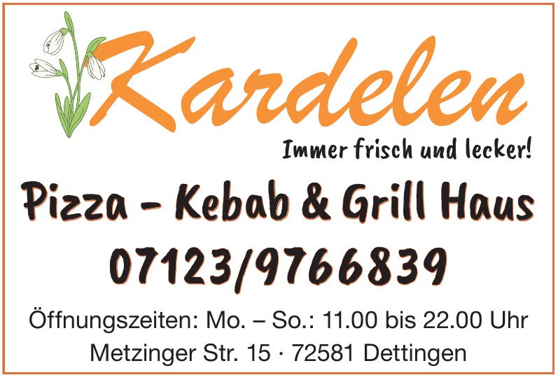 Kardelen Pizza - Kebab & Grill Haus