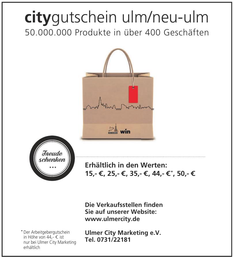 Ulmer City Marketing e.V.