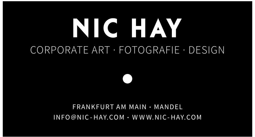 NIC HAY Corporate Art, Fotografie, Design