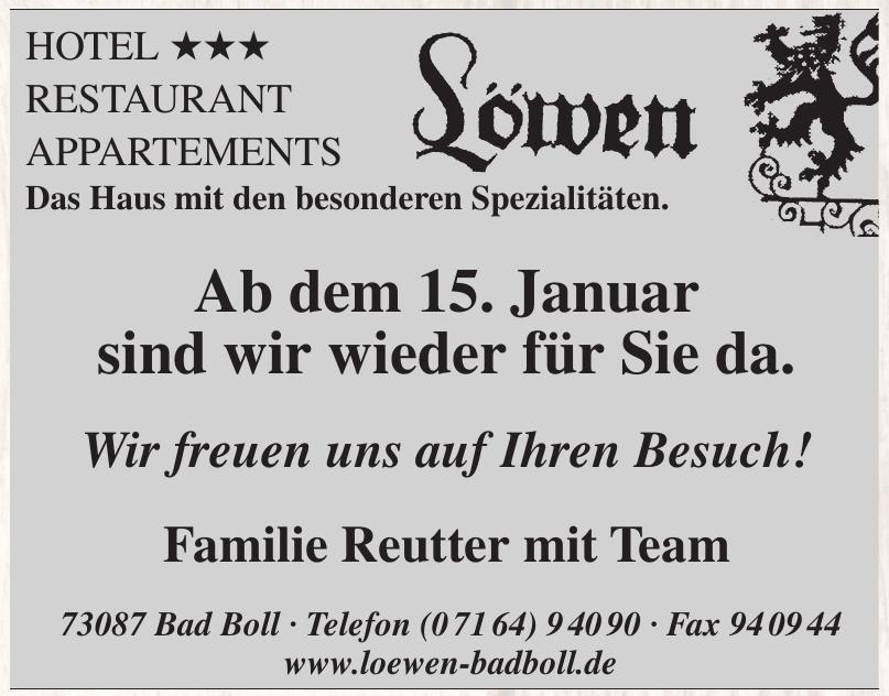Hotel-Restaurant-Appartements Löwen