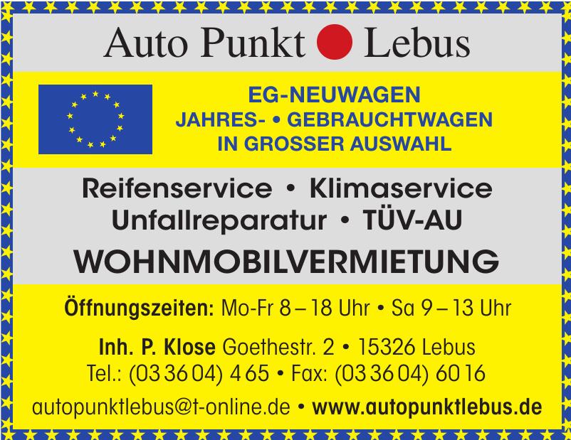 Auto Punkt Lebus