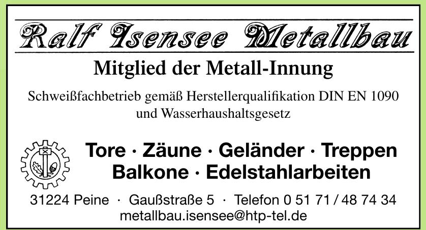 Ralf Isensee Metallbau