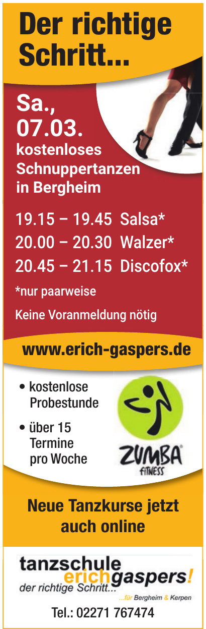 Tanzschule Erich Gaspers