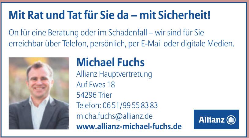 Allianz - Michael  Fuchs Generalvertretung