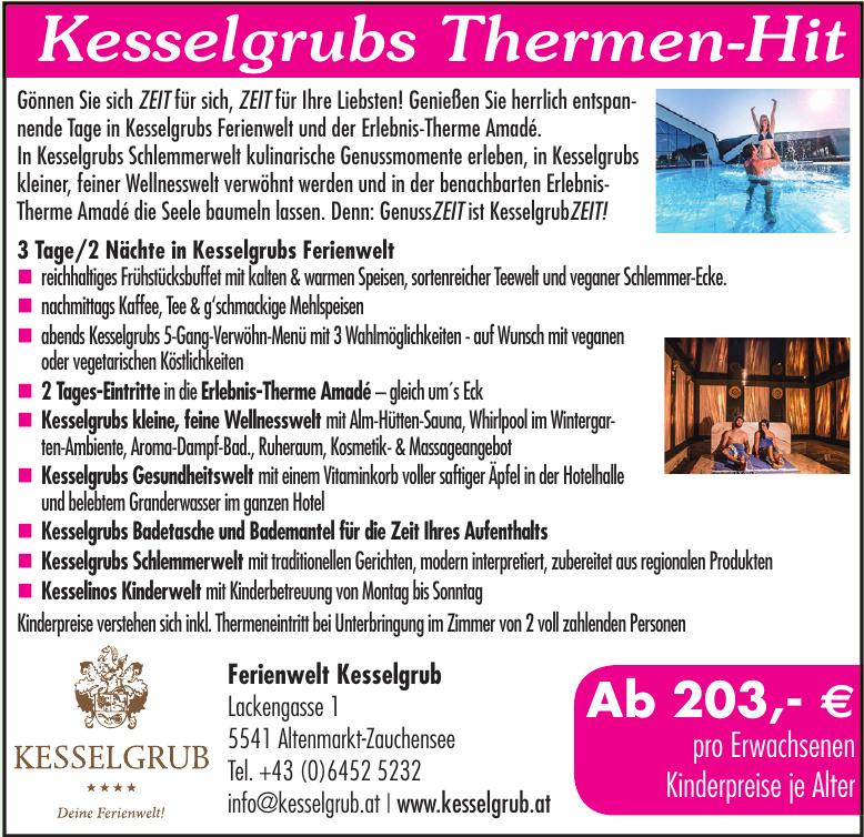 Kesselgrubs Ferienwelt****