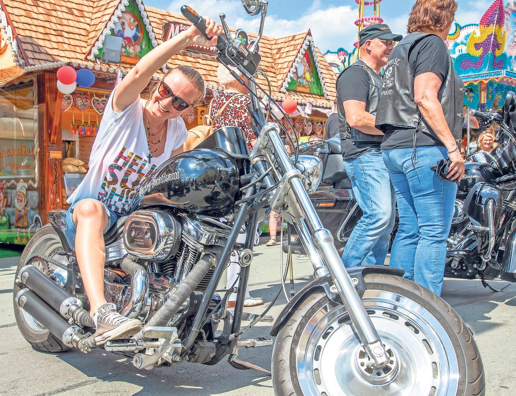 Zum American Day am Samstag, 15. Juni, gibt es auch eine Motorradparade rund um die Kultmarke Harley-Davidson.