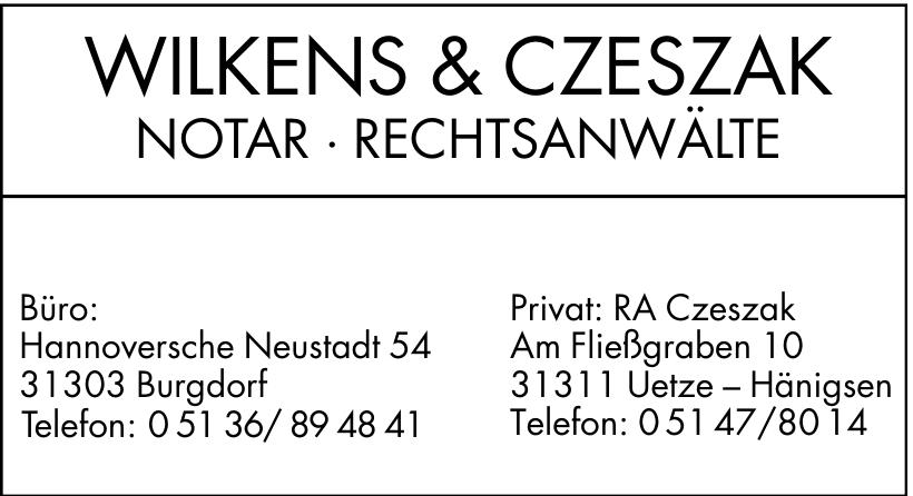 Wilkenz & Czeszak Notar