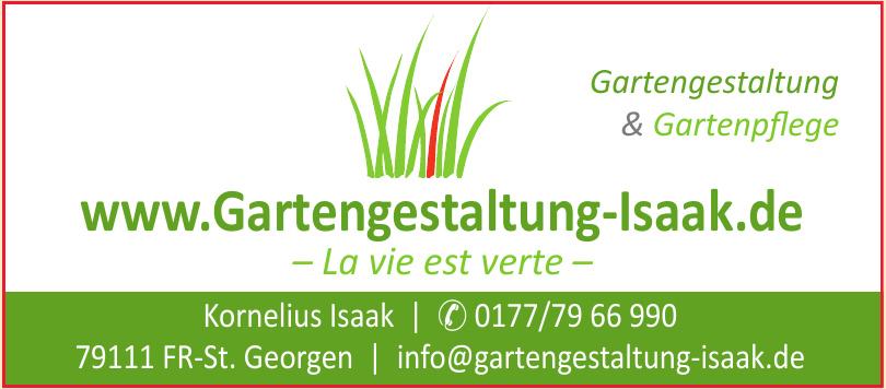 Gartengestaltung & Gartenpflege Kornelius Isaak