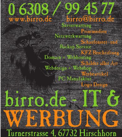 birro.de - IT & Werbung