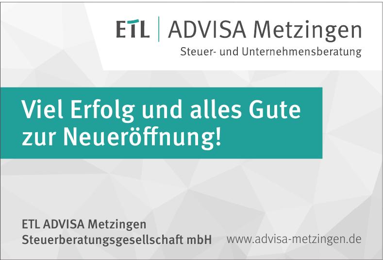 ETL ADVISA Metzingen Steuerberatungsgesellschaft mbH