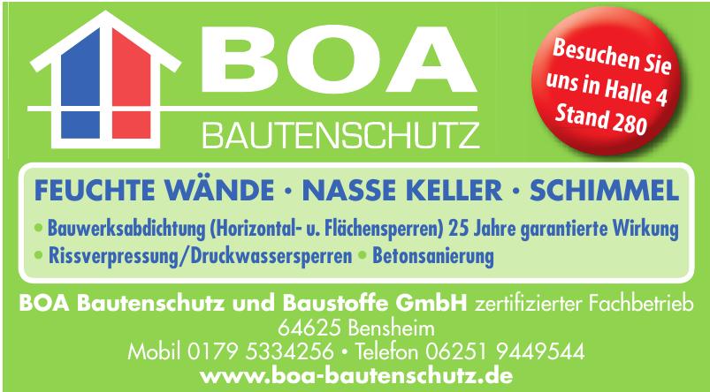 BOA Bautenschutz und Baustoffe GmbH