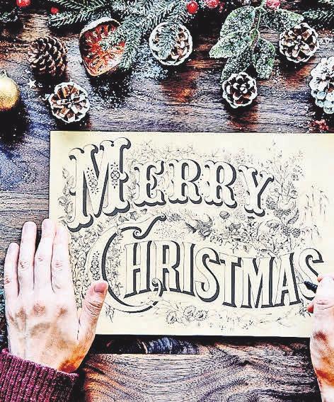 """""""Merry Christmas"""" – zu Deutsch bedeutet dies """"frohe Weihnachten"""". Pixabay"""