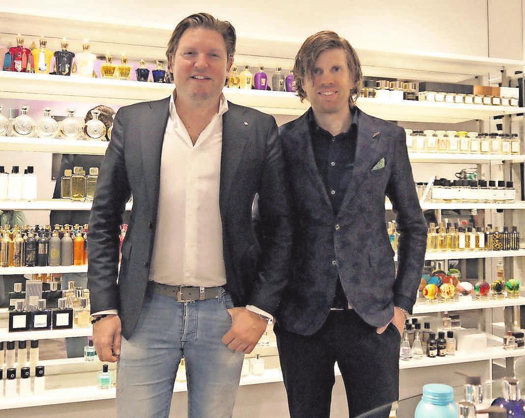 Voller Tatendrang: Inhaber Alexander Jänisch (links) und Stephan Zapf bleiben auch in Krisenzeiten kreativ.