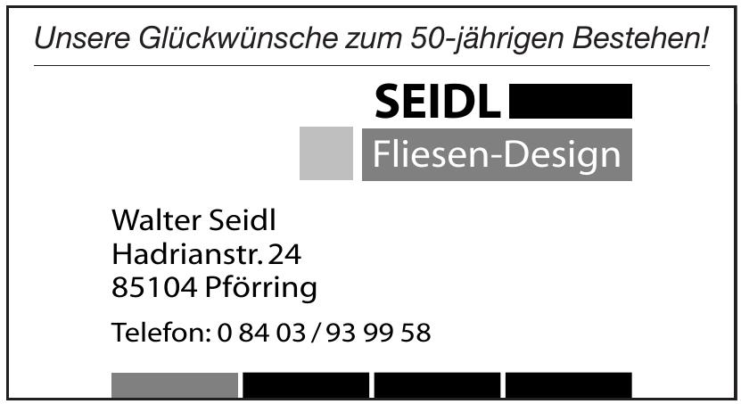 Walter Seidl Fliesen-Design