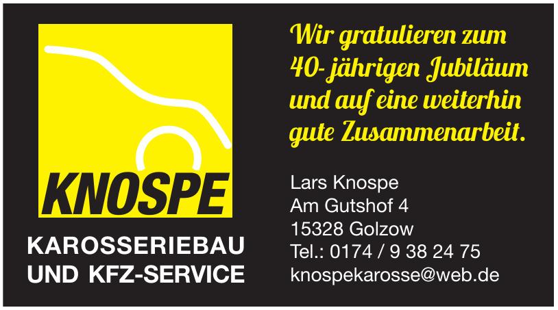 Lars Knospe Karosseriebau und Kfz-Service