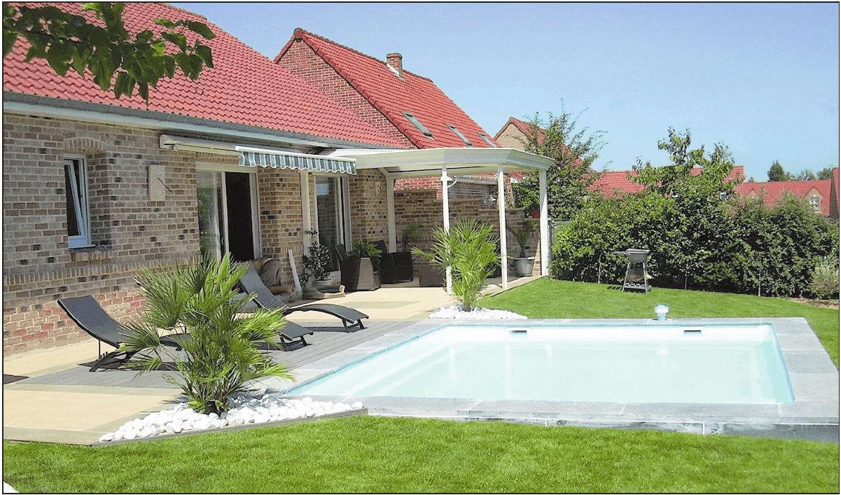 Ob klein oder groß: Pools passen in beinahe jeden Garten. FOTO: HWT-GAWASWASSERTECHNIK GMBH/FREI