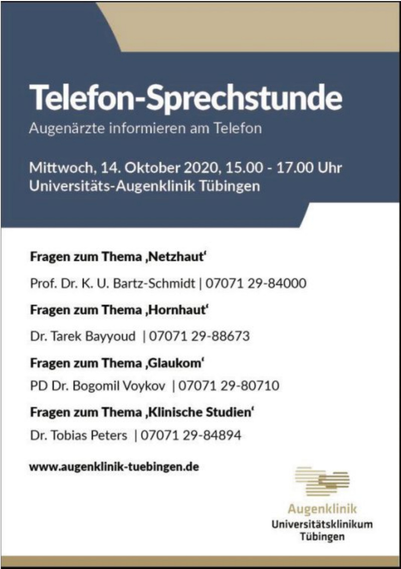 Augenklinik Universitätsklinikum Tübingen