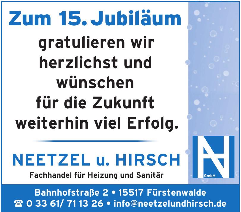 Neetzel u. Hirsch